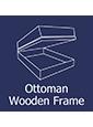 Ottoman Wooden Frame