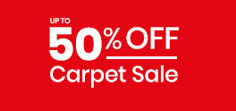 Up to 50% Off Carpet Sale