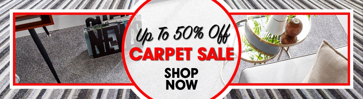 Carpet Sale Up To 50% Off