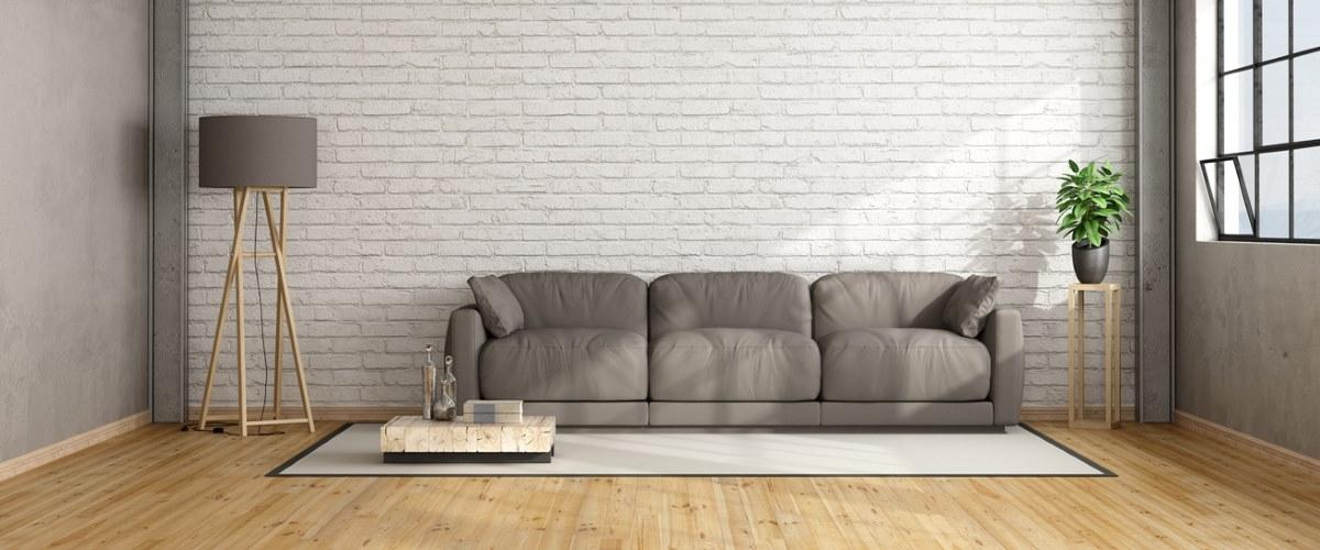 sofa in modern flat