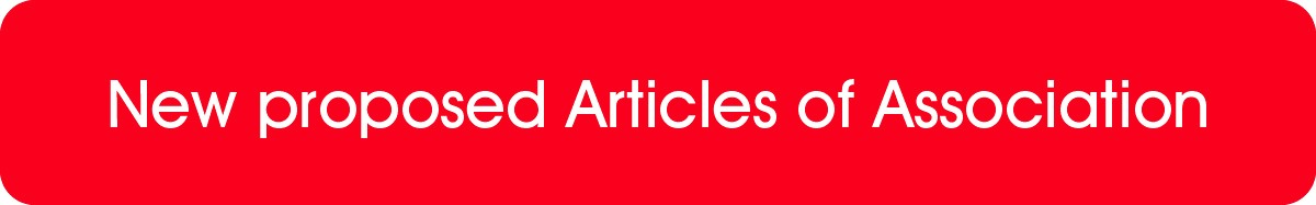 New proposed Articles of Assocation