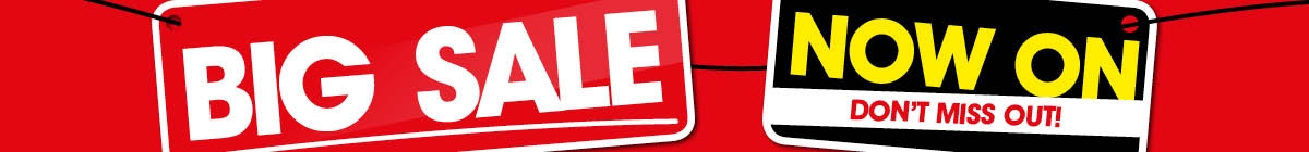 Big Sale Now On