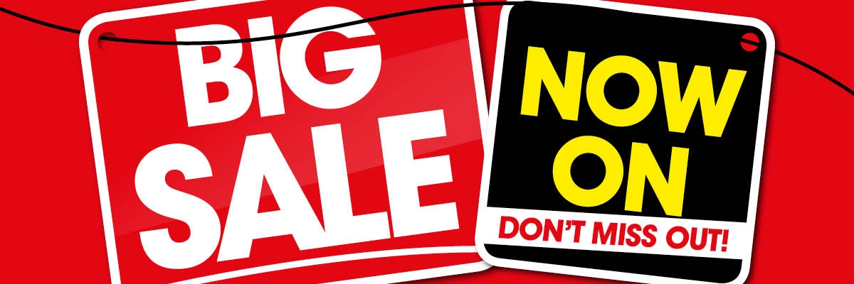 Big Sale Now On