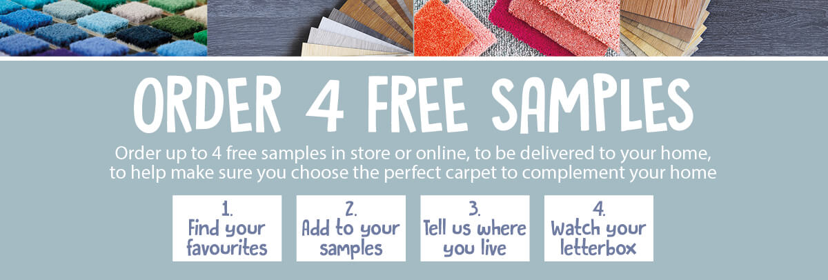 Order Your 4 Free Samples