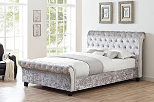 Martinique Crushed Velvet bed Frame