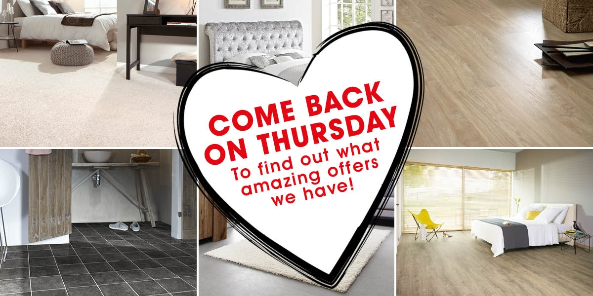 Come Back On Thursday For Our 12 Hour Sale