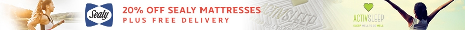 20% Off Sealy Mattresses + Free Delivery