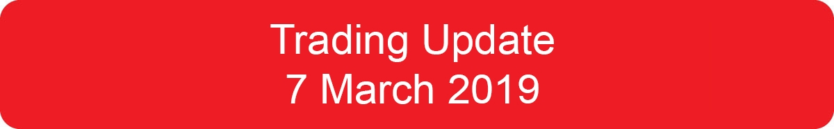 Trading Update March 2019